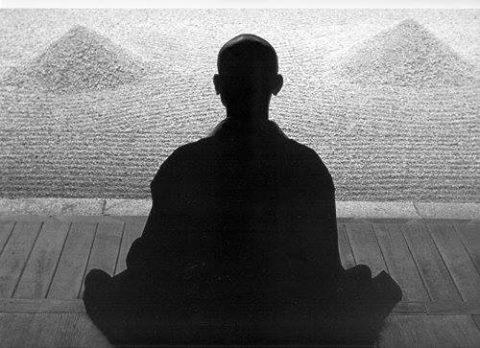 Antico uomo di sempre zen