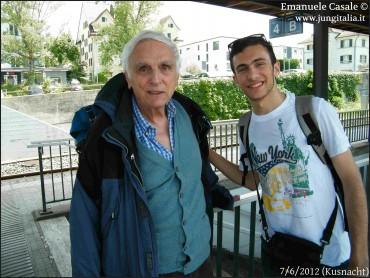 Dieter Baumann e Emanuele Casale, Kusnacht 6-7-2012