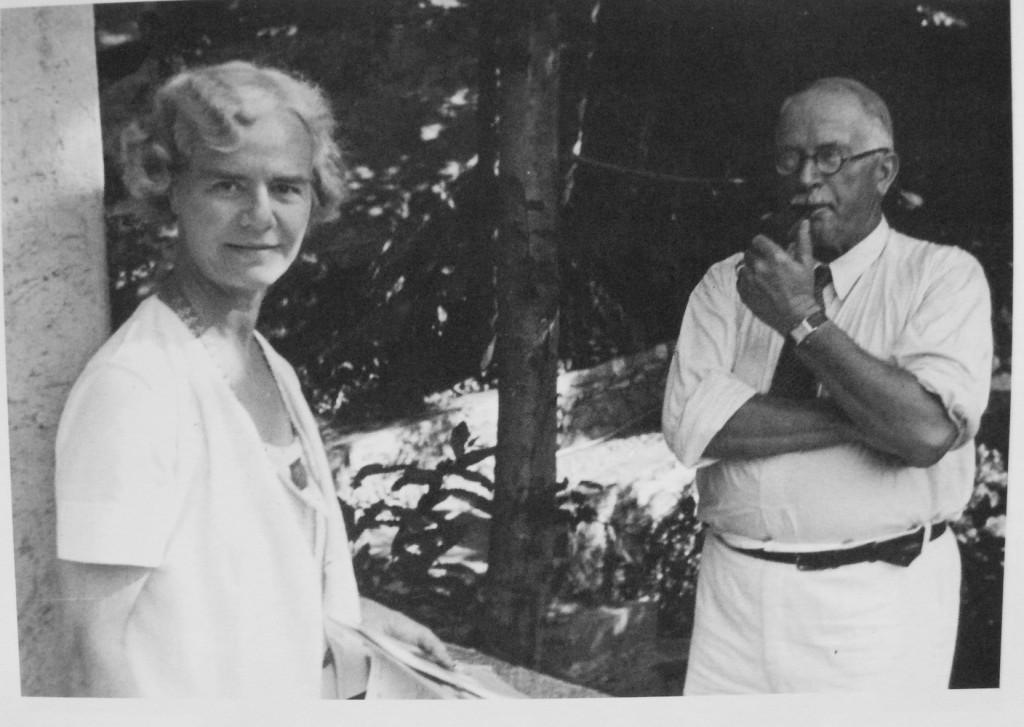 Jung e Olga Frobe-Kapteyne
