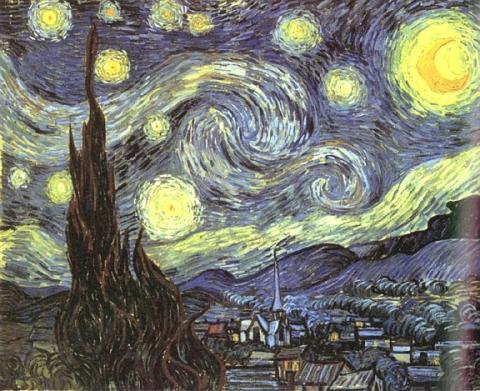 Cercate la vostra stella nell'oscurità di quel cielo, essa brilla per voi (La luce interiore dell'anima)