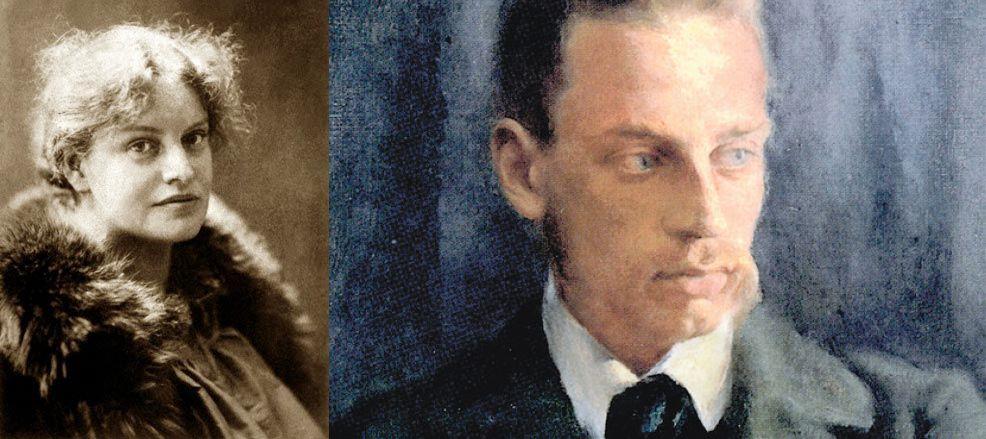Poesia di Rainer M.Rilke dedicata a Lou A.Salomè, 1