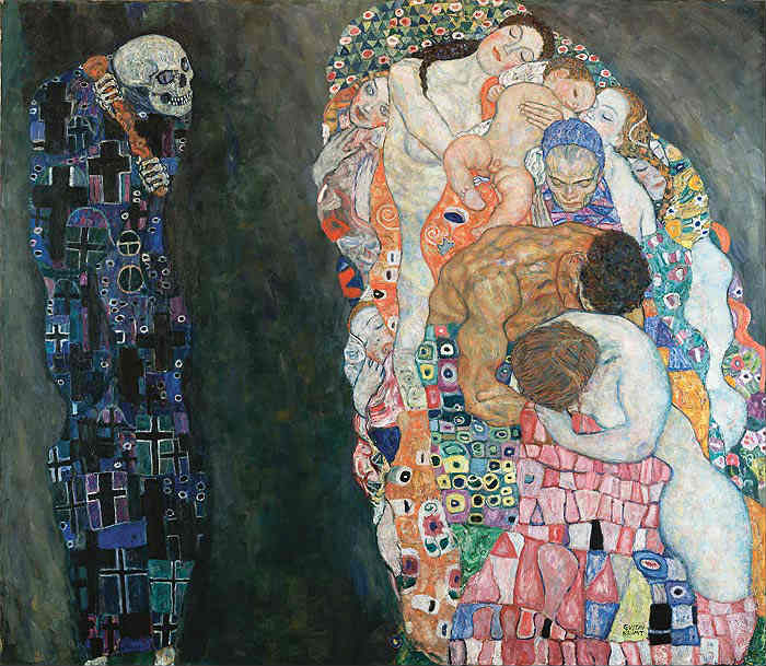 Death and Life - Klimt