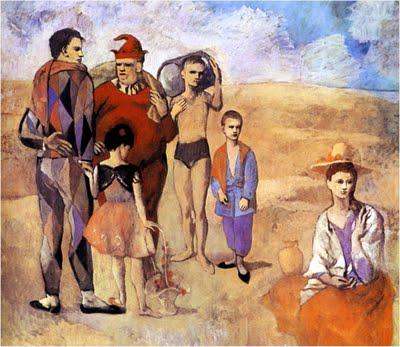 La familia del Saltimbanqui