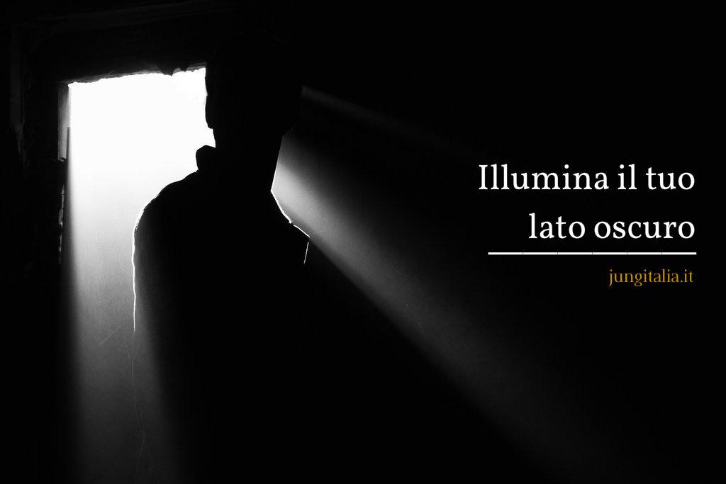 illumina il tuo lato oscuro dalla propria ombra che