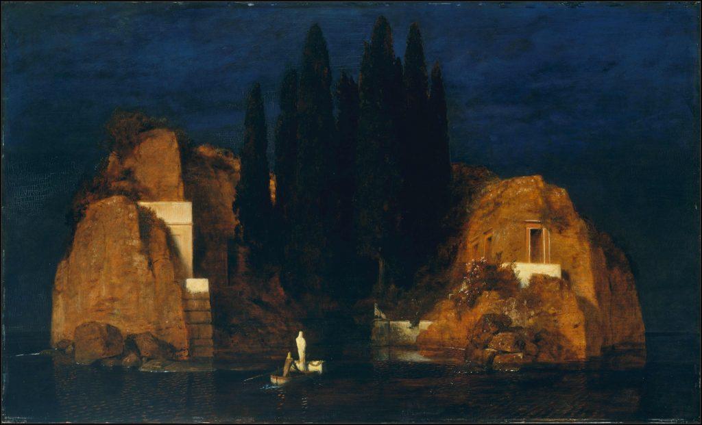 Arnold_Böcklin - L'isola della morte - Die Toteninsel II (Metropolitan Museum of Art