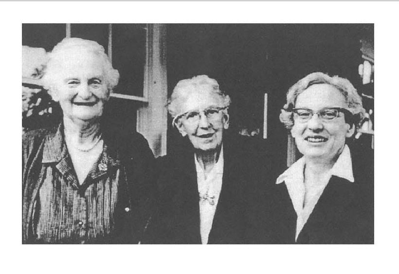 Barbara Hannah, Ester Harding, Marie Louise Von Franz