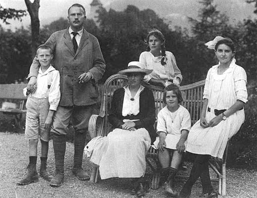 Jung e la sua famiglia