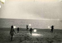 Robert Frank - Untitled (Children with Sparklers in Provincetown) 1958