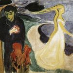 Separation, 1896, Edvard Munch