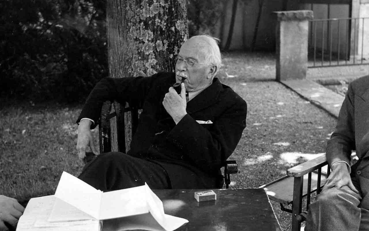 Carl Jung a casa Kusnacht