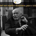 Jung nel suo aspetto dionisiaco e puer copertina