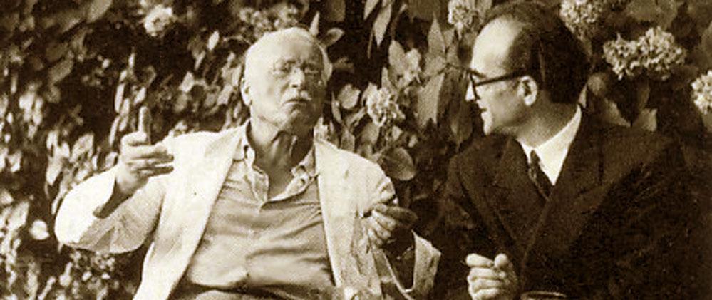 Jung e Mircea Eliade. Eranos
