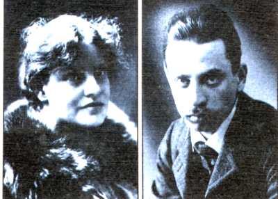 Lou Andreas Salomé e Rainer Maria Rilke