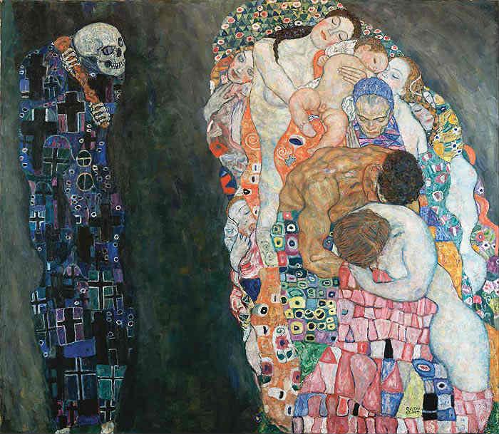 Death and Life - Klimt