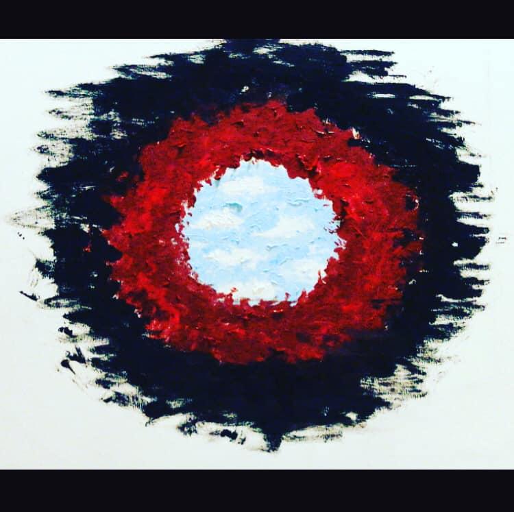 """""""Live. Love. Die"""" - Olio su tela (di Antonella Paesano) - Morte, Vita, Amore"""