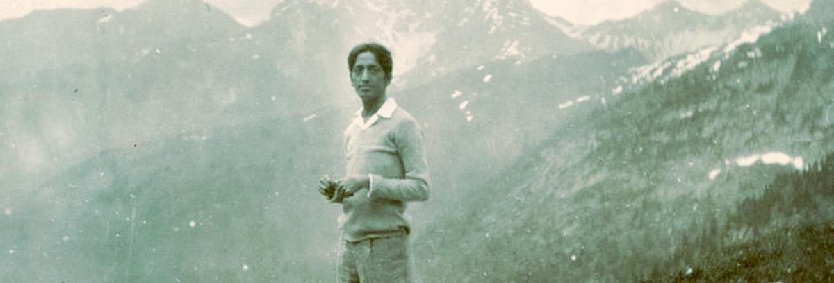 Krishnamurti Giovane