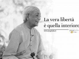 Krishnamurti Libertà Jung Italia