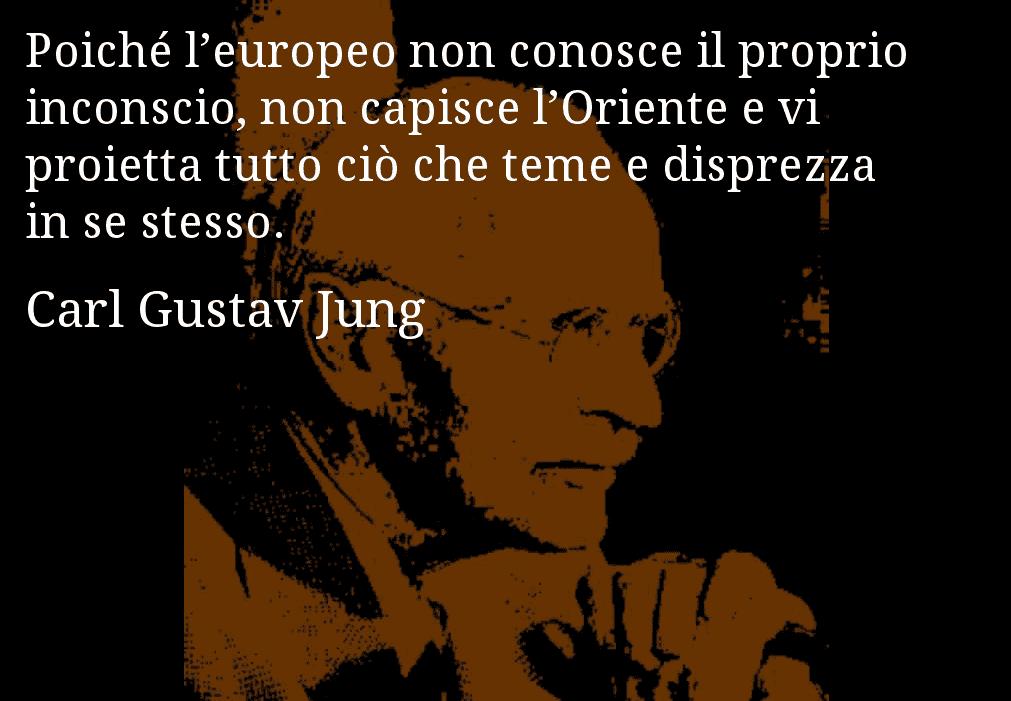 Jung oriente aforisma