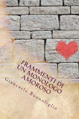 Frammenti di un monologo amoroso (Giancarlo Buonofiglio)