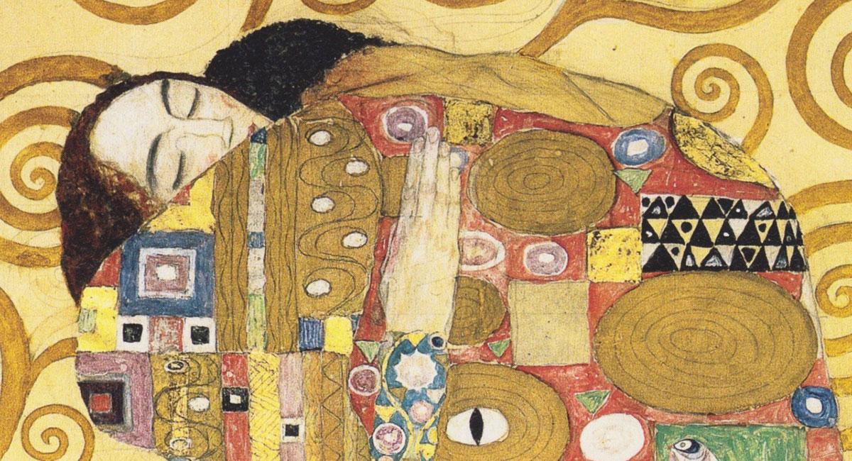 G.Klimt Abbraccio
