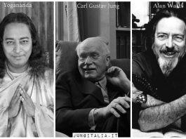 Yogananda Jung Alan Watts Collage