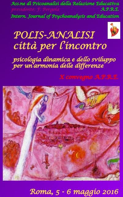 APRE Convegno 5-6 maggio Roma Pergola