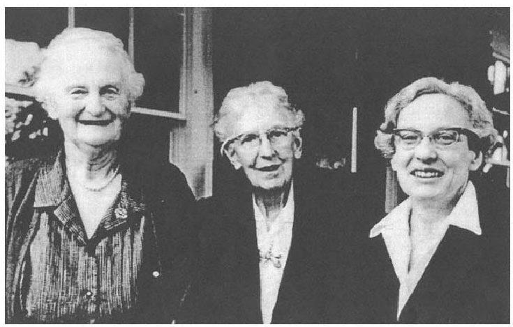 Barbara Hannaha, Ester Harding, Von Franz