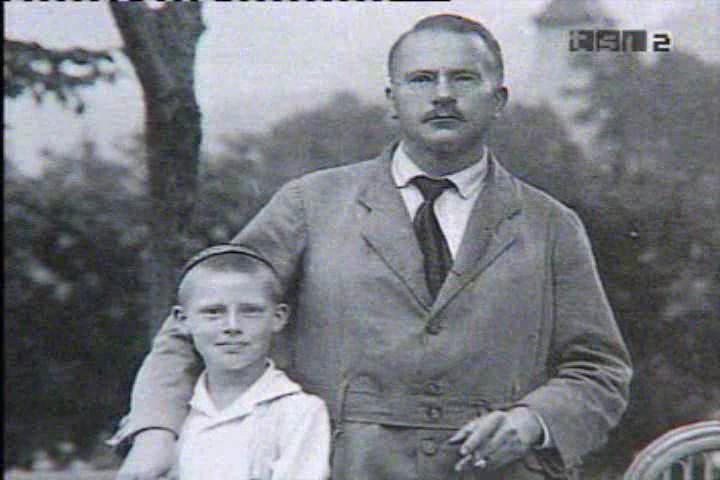 Jung e suo figlio Franz