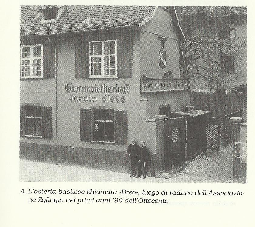 Circolo studentesco della Zofingia, dove Jung teneva le sue conferenze a 23 anni
