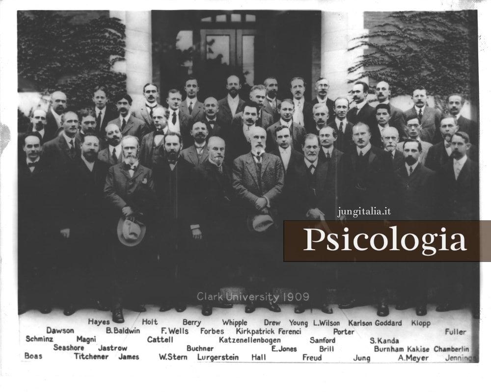 Psicoanalisi gruppo Clark University 1909