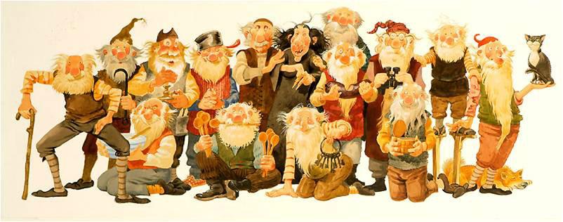 Jólasveinar Babbo Natale Islandese