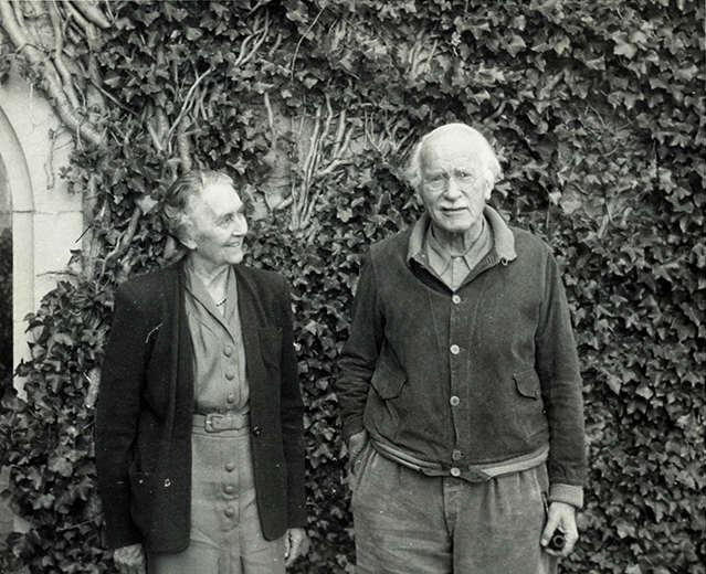 Emma e Jung a Bollingen