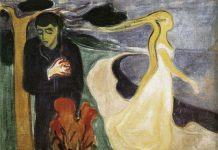 Separation, 1896, Edvard Munch