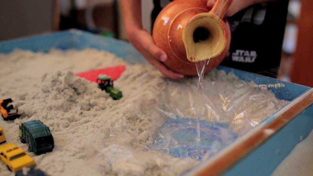 gioco della sabbia sandplay therapy