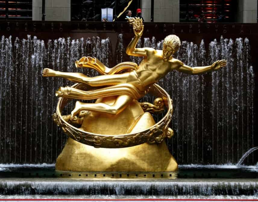 Prometeo a Rockefeller Center - New York