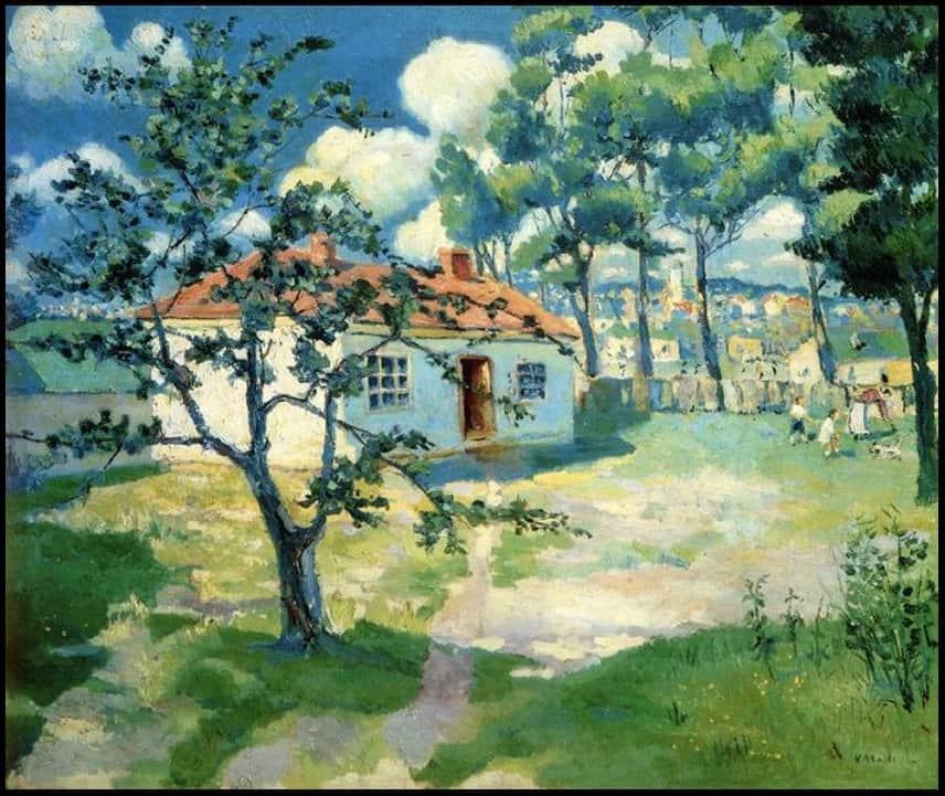 Kazimir Malevich - Casa in primavera