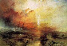 Turner - La nave di schiavi, 1840