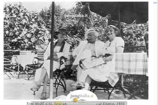 Toni Wolff, Jung e Barbara Hannah a Eranos, 1939